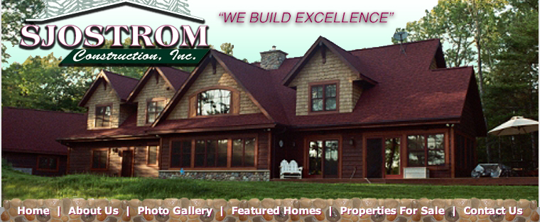 wi building wisconsin custom sale for builders northern construction hayward sjmain in cabins contractors homes home sjostrom vacation